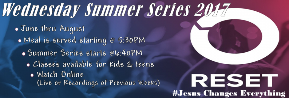 Wednesday Summer Series 2017